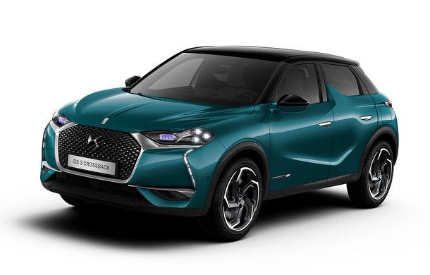 Primele imagini cu DS 3 Crossback: SUV de oraș cu elemente atrăgătoare de design și versiune electrică cu autonomie de 300 de kilometri - Poza 1