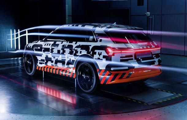 Prima reclamă pentru Audi e-tron: modelul electric preia designul conceptului prezentat în martie - Poza 1