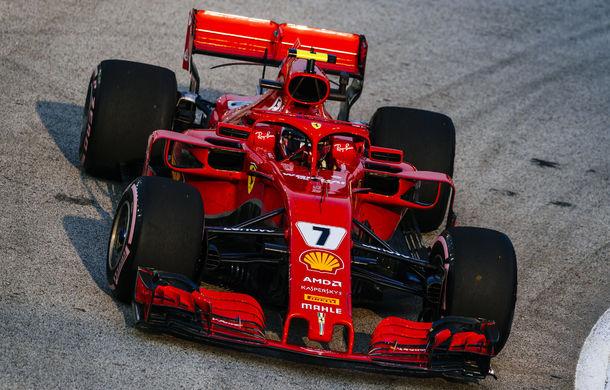 Ricciardo și Raikkonen, cei mai rapizi în antrenamentele din Singapore. Hamilton și Vettel, aproape de un acroșaj - Poza 1