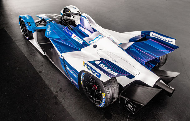 BMW prezintă monopostul cu care va debuta în competiția electrică Formula E: motor de 340 de cai putere - Poza 10