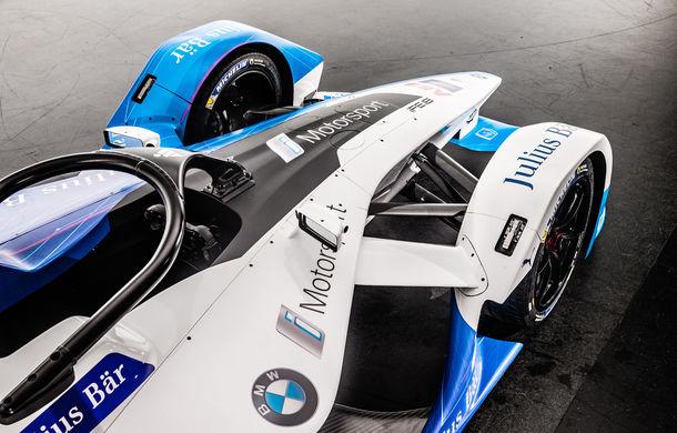 BMW prezintă monopostul cu care va debuta în competiția electrică Formula E: motor de 340 de cai putere - Poza 6