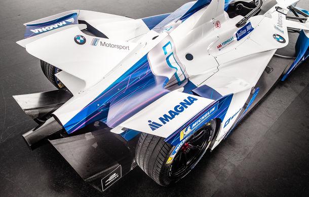 BMW prezintă monopostul cu care va debuta în competiția electrică Formula E: motor de 340 de cai putere - Poza 7