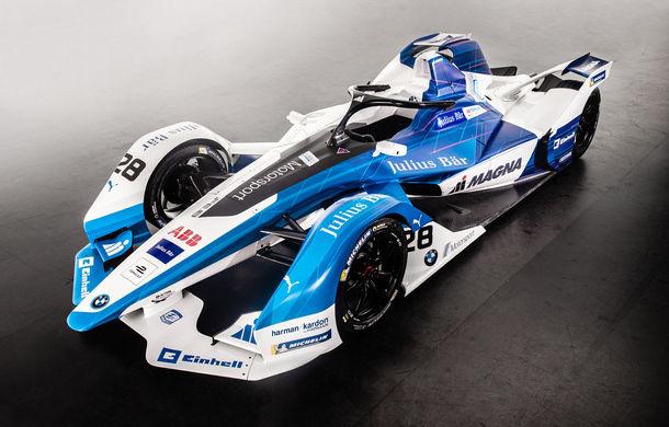 BMW prezintă monopostul cu care va debuta în competiția electrică Formula E: motor de 340 de cai putere - Poza 1