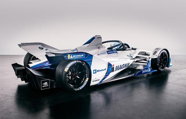 BMW prezintă monopostul cu care va debuta în competiția electrică Formula E: motor de 340 de cai putere - Poza 5