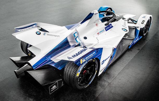 BMW prezintă monopostul cu care va debuta în competiția electrică Formula E: motor de 340 de cai putere - Poza 4