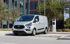 Ford lansează versiunea Transit Custom PHEV: autonomie electrică de 50 de kilometri și motorul 1.0 EcoBoost cu funcție de range extender