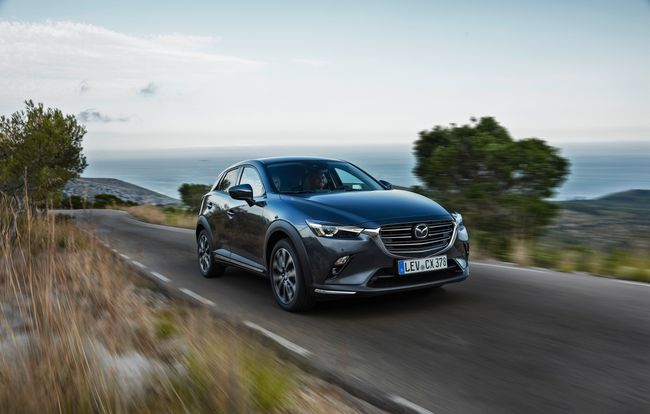Test drive Mazda CX-3 facelift