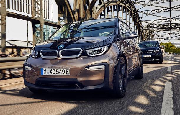 Îmbunătățiri pentru BMW i3 și i3 S: baterie de 42.2 kWh și autonomie de până la 310 kilometri conform standardului WLTP - Poza 1