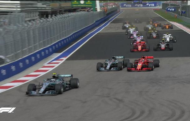Hamilton, victorie în Rusia după dueluri cu Vettel și ordine de echipă de la Mercedes! - Poza 2