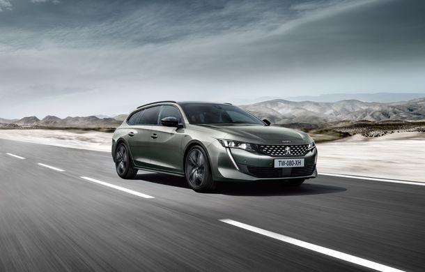 Peugeot lansează seria limitată 508 SW First Edition: aspect sportiv și dotări de top pentru break-ul producătorului francez - Poza 6