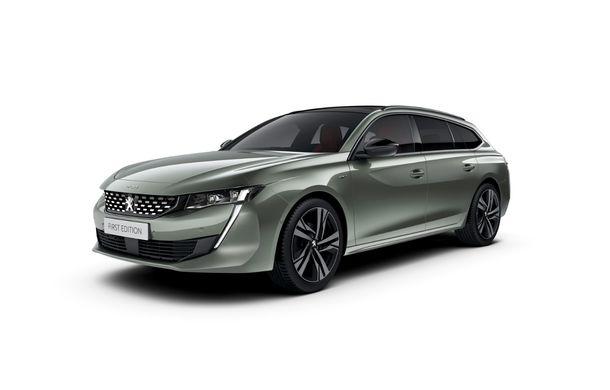 Peugeot lansează seria limitată 508 SW First Edition: aspect sportiv și dotări de top pentru break-ul producătorului francez - Poza 10