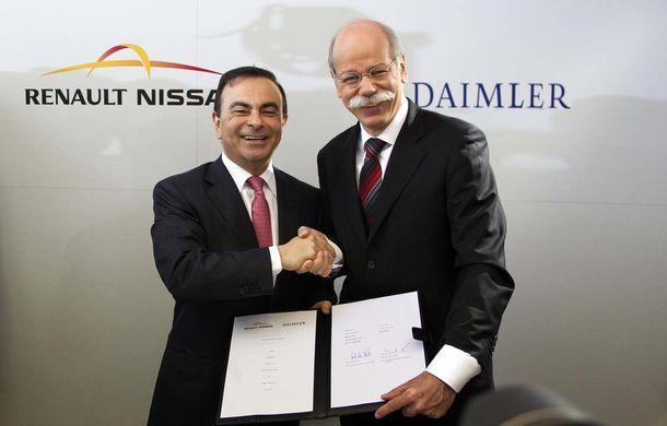 """Daimler și Renault-Nissan vor să continue colaborarea: """"Ne putem ajuta reciproc în dezvoltarea mașinilor electrice"""" - Poza 1"""