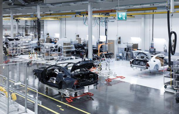 34 de prototipuri Polestar 1 vor părăsi uzina din Goteborg: suedezii încep testele finale. Versiunea de serie a coupe-ului hibrid intră în producție în 2019 - Poza 4