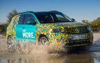 SUV-ul Volkswagen T-Cross va fi prezentat în 25 octombrie: portbagaj de 455 de litri și motorizări preluate din gama Polo