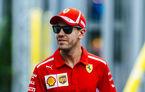 """Vettel admite că Ferrari pierde titlurile din cauza propriilor greșeli: """"Le-am făcut munca mai ușoară celor de la Mercedes"""""""