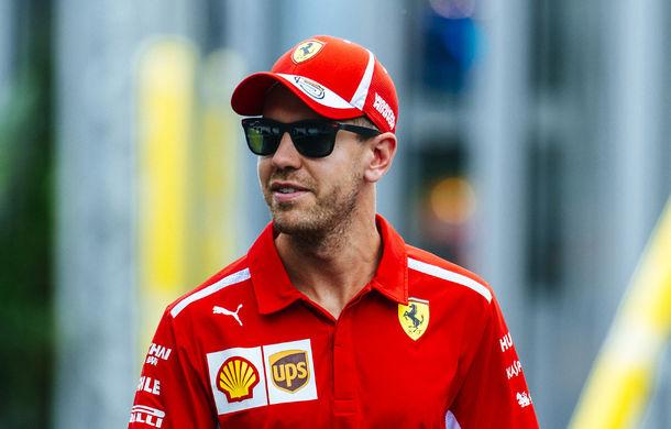 """Vettel admite că Ferrari pierde titlurile din cauza propriilor greșeli: """"Le-am făcut munca mai ușoară celor de la Mercedes"""" - Poza 1"""