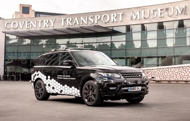 """Un Range Rover Sport autonom a fost testat cu succes în Marea Britanie: """"Vrem ca mașinile autonome să devină o realitate pentru clienți în cel mult 10 ani"""" - Poza 2"""