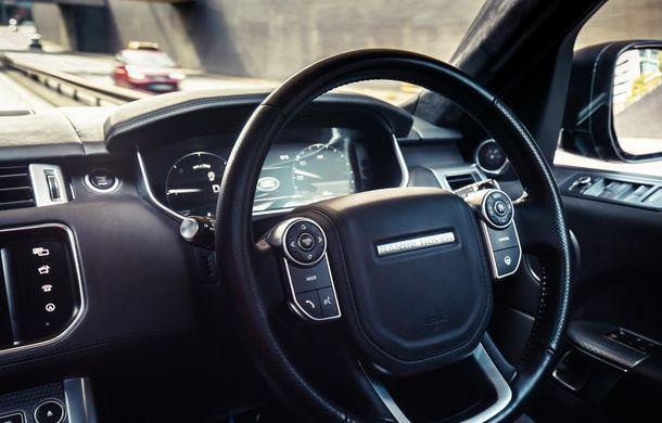 """Un Range Rover Sport autonom a fost testat cu succes în Marea Britanie: """"Vrem ca mașinile autonome să devină o realitate pentru clienți în cel mult 10 ani"""" - Poza 5"""