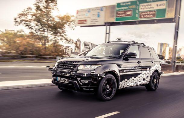 """Un Range Rover Sport autonom a fost testat cu succes în Marea Britanie: """"Vrem ca mașinile autonome să devină o realitate pentru clienți în cel mult 10 ani"""" - Poza 3"""