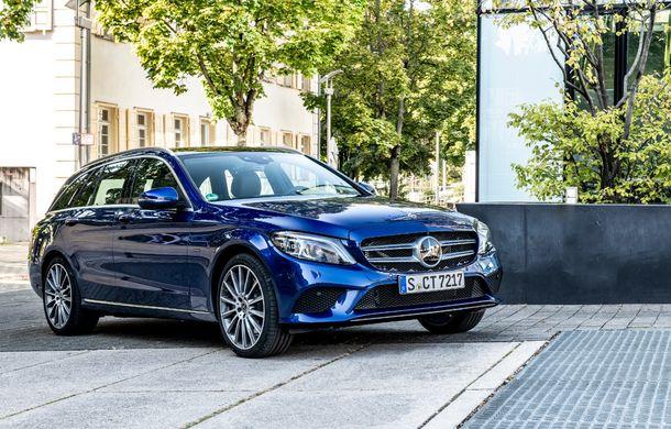 Detalii despre versiunea Mercedes-Benz C300de: plug-in hybrid diesel-electric cu 306 CP și autonomie electrică de până la 57 de kilometri - Poza 8