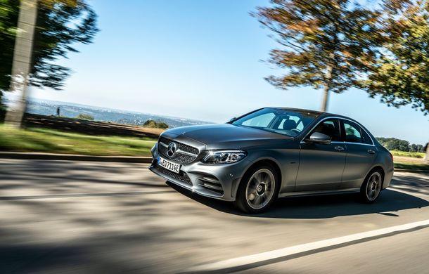 Detalii despre versiunea Mercedes-Benz C300de: plug-in hybrid diesel-electric cu 306 CP și autonomie electrică de până la 57 de kilometri - Poza 16