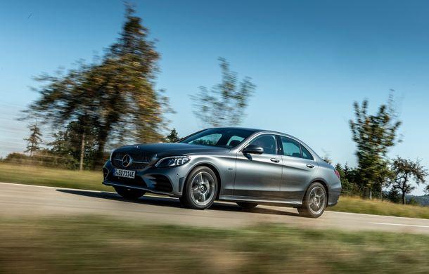 Detalii despre versiunea Mercedes-Benz C300de: plug-in hybrid diesel-electric cu 306 CP și autonomie electrică de până la 57 de kilometri - Poza 20