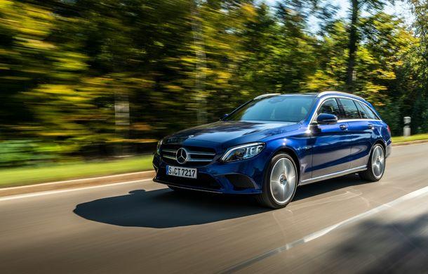 Detalii despre versiunea Mercedes-Benz C300de: plug-in hybrid diesel-electric cu 306 CP și autonomie electrică de până la 57 de kilometri - Poza 4