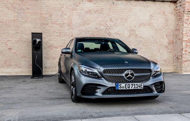 Detalii despre versiunea Mercedes-Benz C300de: plug-in hybrid diesel-electric cu 306 CP și autonomie electrică de până la 57 de kilometri - Poza 24