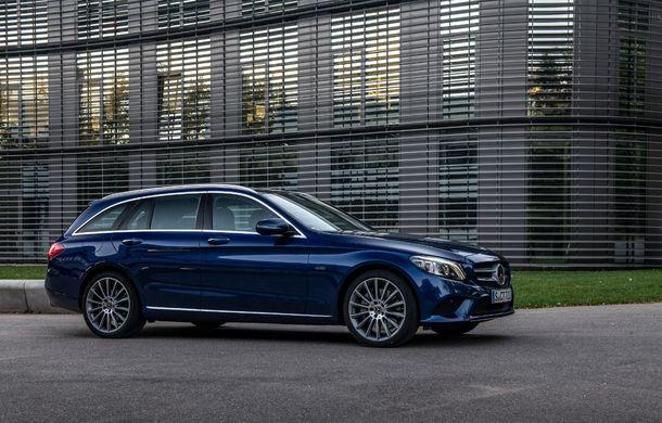 Detalii despre versiunea Mercedes-Benz C300de: plug-in hybrid diesel-electric cu 306 CP și autonomie electrică de până la 57 de kilometri - Poza 11