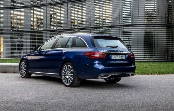 Detalii despre versiunea Mercedes-Benz C300de: plug-in hybrid diesel-electric cu 306 CP și autonomie electrică de până la 57 de kilometri - Poza 7