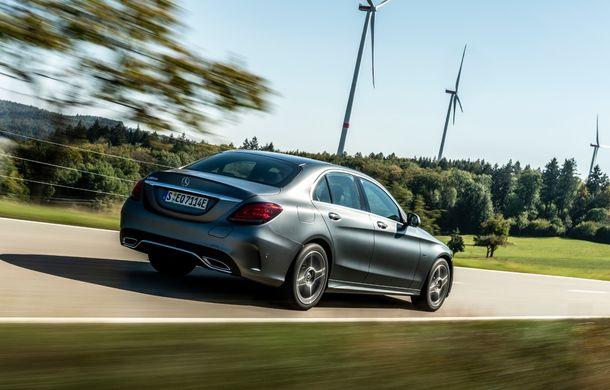 Detalii despre versiunea Mercedes-Benz C300de: plug-in hybrid diesel-electric cu 306 CP și autonomie electrică de până la 57 de kilometri - Poza 18