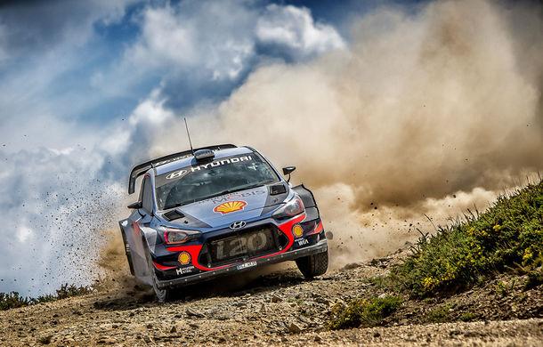Cursă neobișnuită: un Hyundai i20 WRC și o bicicletă se întrec în inima Portugaliei - Poza 7