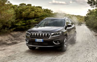 Test drive Jeep Cherokee facelift