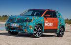 Un nou teaser video cu Volkswagen T-Cross: viitorul SUV promite un pachet generos de sisteme de siguranță