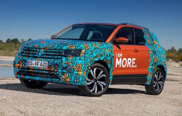 Un nou teaser video cu Volkswagen T-Cross: viitorul SUV promite un pachet generos de sisteme de siguranță - Poza 1
