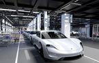Porsche Taycan va fi oferit în mai multe versiuni de putere: sportiva electrică debutează în 2019