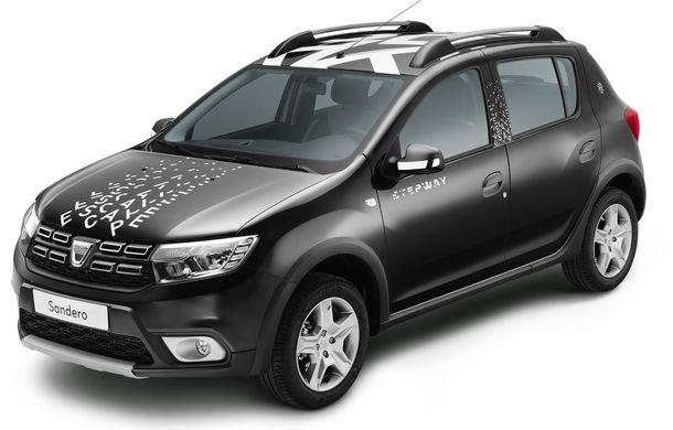 Dacia Sandero Stepway Escape: ediție specială de 400 de unități pentru piața din Franța - Poza 2