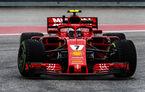 Raikkonen a câștigat cursa din Statele Unite în fața lui Verstappen și Hamilton! Vettel rămâne în cursa pentru titlu cu un loc 4