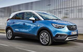 Noutăți în gama Opel Crossland X: motor diesel de 120 CP și transmisie automată cu 6 trepte. În România, de la 17.500 de euro