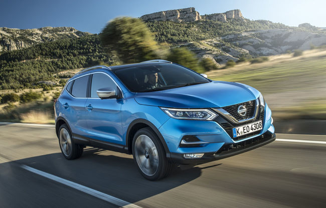 Test drive Nissan Qashqai facelift