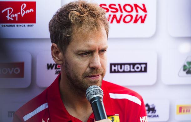 """Vettel admite că ratarea titlului este dureroasă: """"Este un moment oribil"""" - Poza 1"""