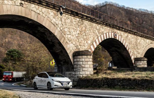 #ElectricChallenge: Nissan Leaf a parcurs București-Sibiu cu un singur plin al bateriei - Poza 20