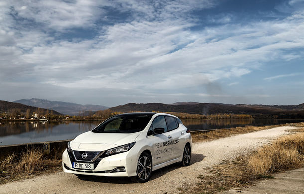 #ElectricChallenge: Nissan Leaf a parcurs București-Sibiu cu un singur plin al bateriei - Poza 17