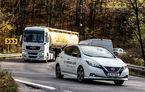#ElectricChallenge: Nissan Leaf a parcurs București-Sibiu cu un singur plin al bateriei