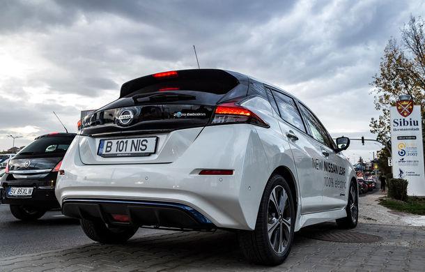 #ElectricChallenge: Nissan Leaf a parcurs București-Sibiu cu un singur plin al bateriei - Poza 22