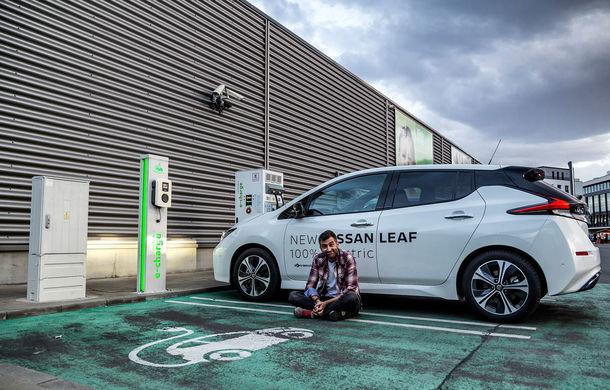 #ElectricChallenge: Nissan Leaf a parcurs București-Sibiu cu un singur plin al bateriei - Poza 26
