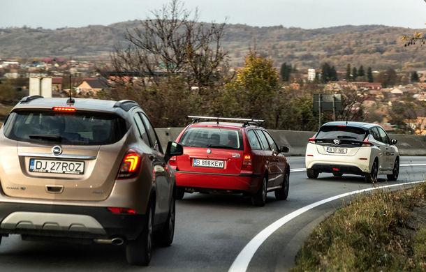#ElectricChallenge: Nissan Leaf a parcurs București-Sibiu cu un singur plin al bateriei - Poza 21