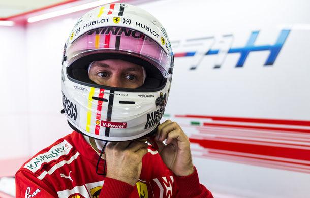 """Vettel și Ferrari se concentrează pe titlul constructorilor: """"Trebuie să le arătăm celor de la Mercedes de ce vom fi în stare în 2019"""" - Poza 1"""