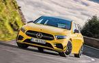 """Viitoarea generație Mercedes-AMG A45, surprinsă în haine de camuflaj: """"Drift Mode"""" pentru noul Hot Hatch de peste 400 CP"""