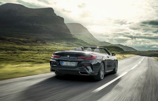 BMW Seria 8 Cabrio, poze și informații oficiale: motorizări de până la 530 CP și 15 secunde pentru plierea plafonului din material textil - Poza 20